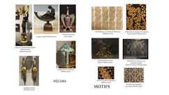 Planches decor, motif, ornement, arts dé
