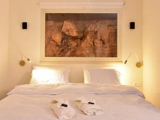 מיטה בהמתנה לאורחים