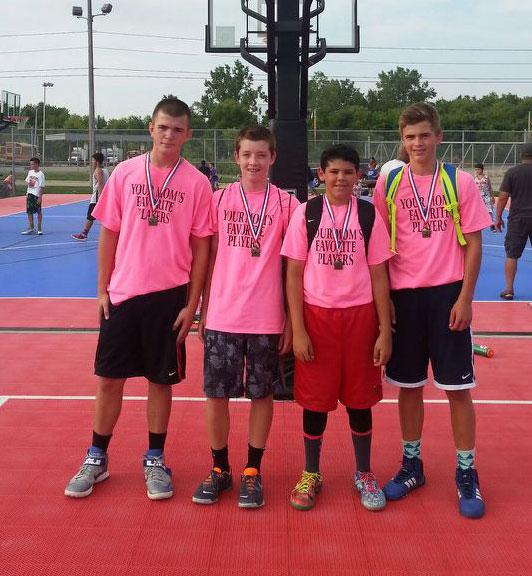 8th grade champions 3 on 3