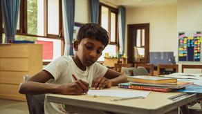 Who's Holding the Pencil?                 By Maya Thiagarajan