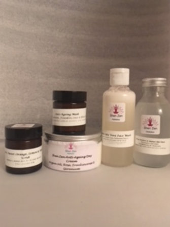 DIY Natural Facial Kit - Mature/Dry/Sensitive Skin