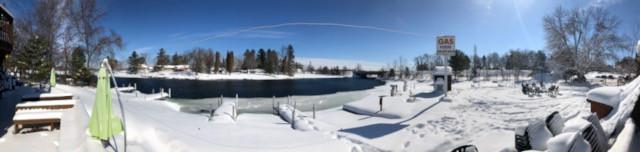 Winter panoramic