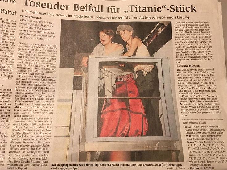 Christina-Arndt-Beifall-Titanic-Presse-Schauspielerin-Elli-Theaterstück
