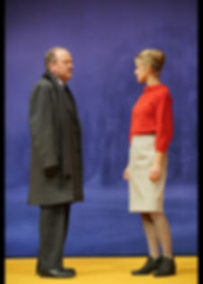 Jens Wawrczeck und Christina Arndt Nora