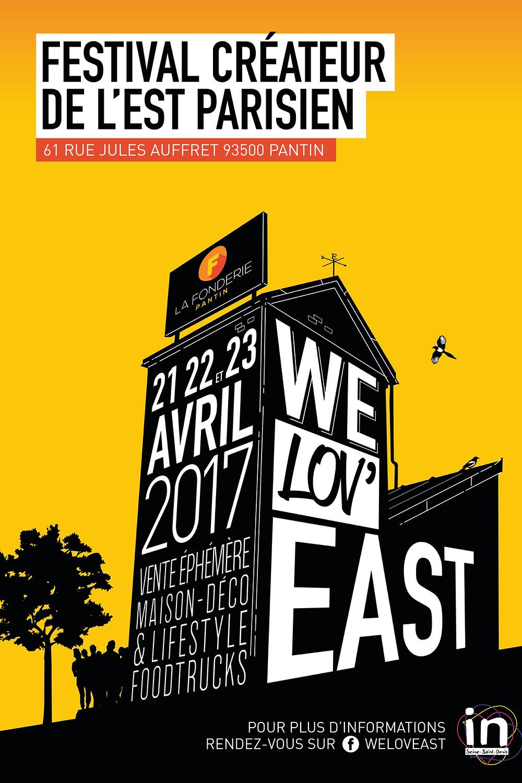Festival des Créateurs de l'Est Parisien - WE LOV'EAST