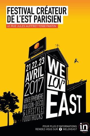 Festival des Créateurs de l'Est Parisien - WE LOV'EAST - Pantin.