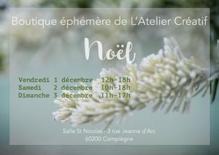 EXPO-VENTE. Marché de Noël - Compiègne !