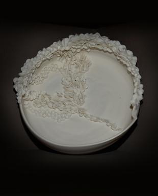Assiette Numulites Porcelaine