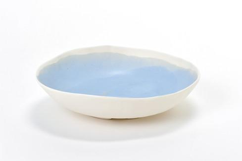 Assiette creuse porcelaine