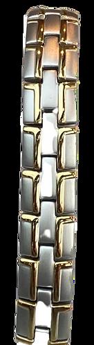 Titanium Bracelets - Single Magnet T80