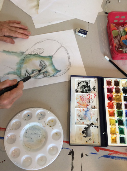 Dessin Egon Schiele