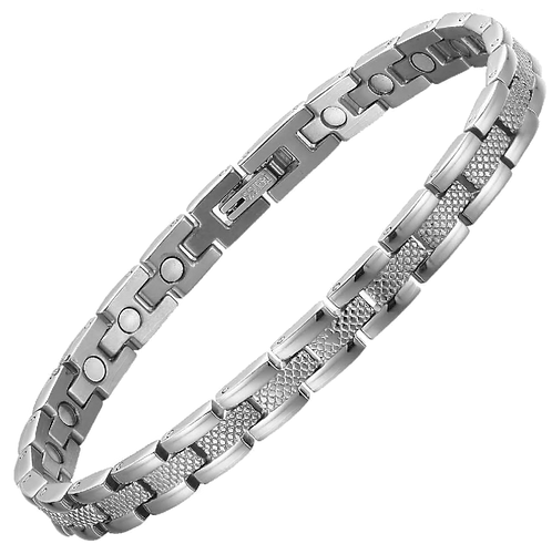 Titanium Bracelets - Single Magnet T84