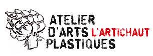 logo cours de peinture  atelier d'arts plastiques l'artichaut à Pau