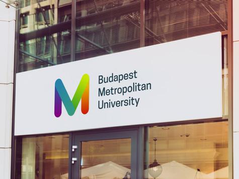 BUDAPEST METROPOLITAN UNIVERSITY IDENTITY REDESIGN