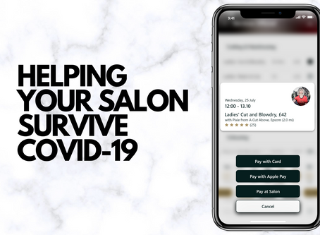 HELPING YOUR SALON SURVIVE COVID-19