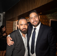 Guillermo Martínez y Daniel López