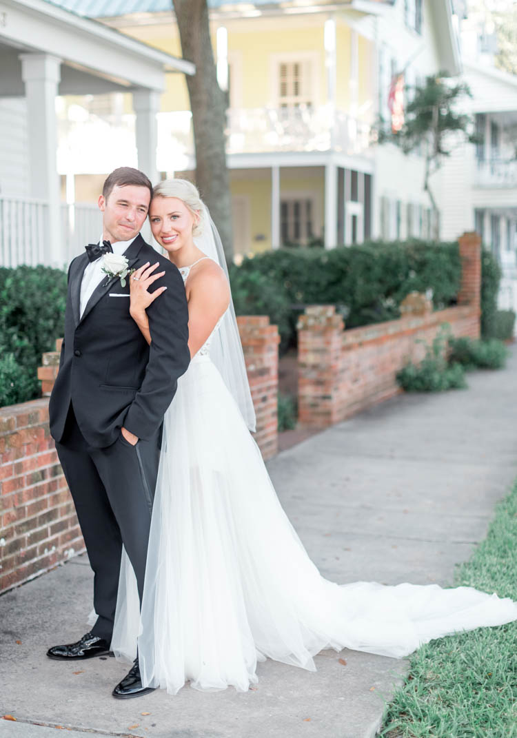 Digital Wunderland Southport, NC wedding couple