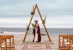 Elope Oak Island wedding on the beach