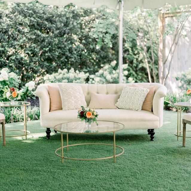 Wedding Lounge Martha My Dear Rentals Blue Satin Bee