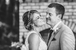 Matt McGraw Wedding Couple Laughing Malachi Meadows Wedding