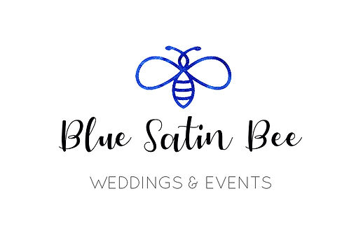 Blue Satin Bee Weddings and Events in Southport, NC. Logo
