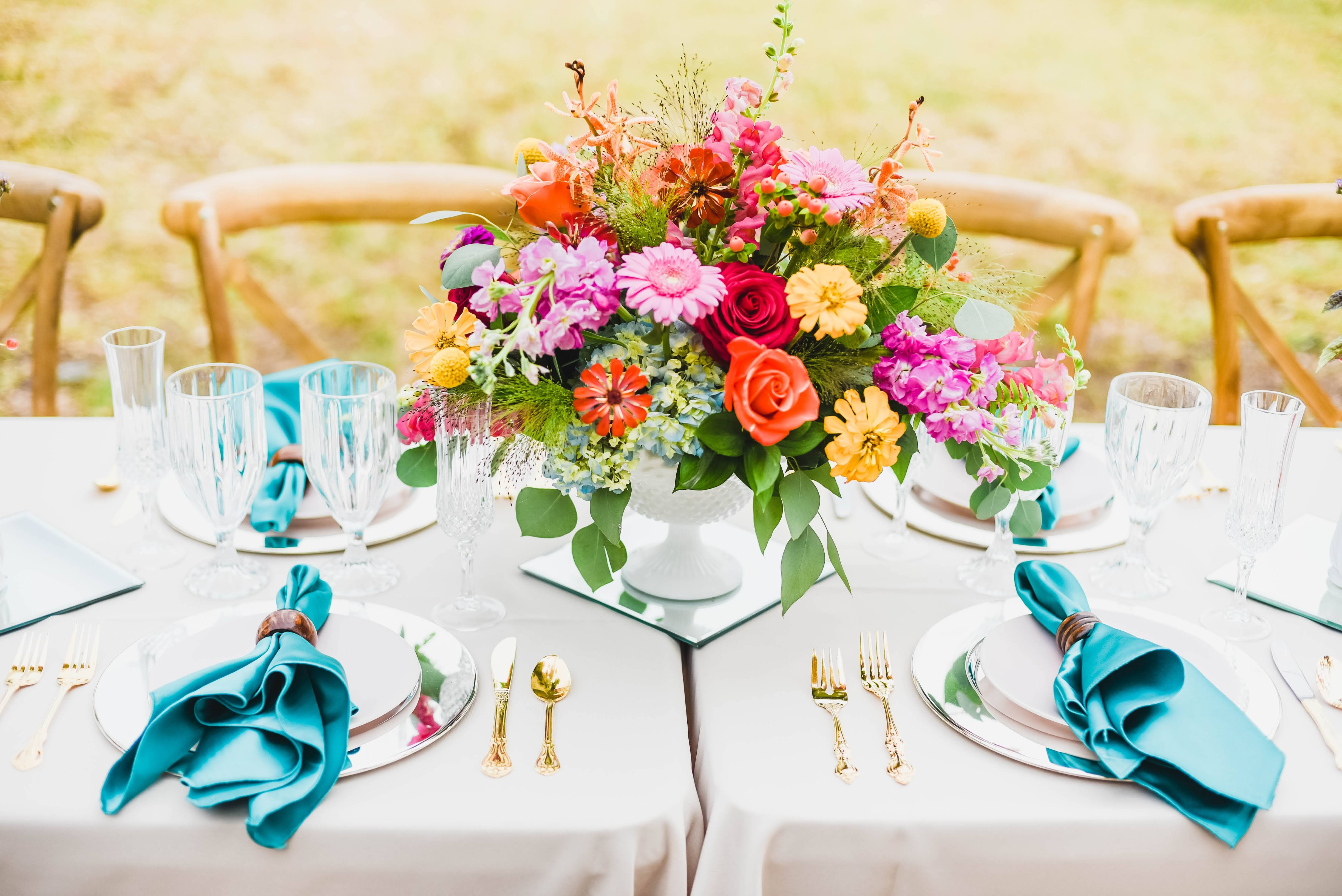 Hen House Photography Southport Wedding Elopement Package Tablescape and Flowers