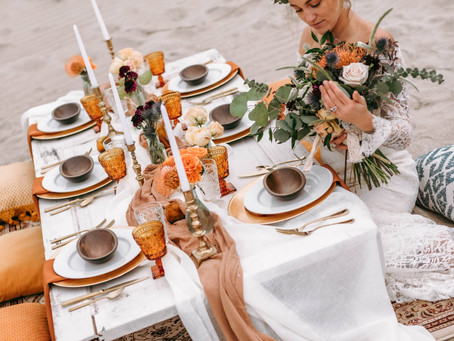 Vintage Bohemian Style | Oak Island Wedding Styled Shoot