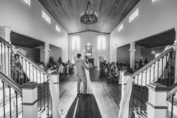 Matt McGraw shoots Wedding Couple first Dance Malachi Meadows Wedding in Wilmington, NC