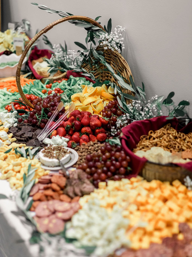 Southport Community Building Wedding Digital Wunderland The Confectionary Grazing Table