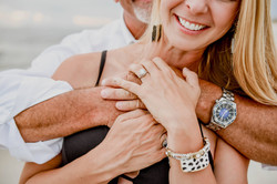 Hen House Photo Bald Head Island Wedding Proposal Engagement Photos on Beach