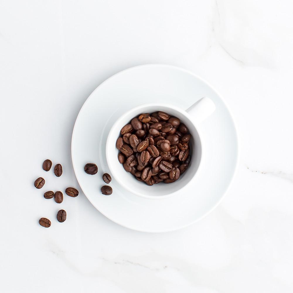Coffee beans as a wedding favor idea