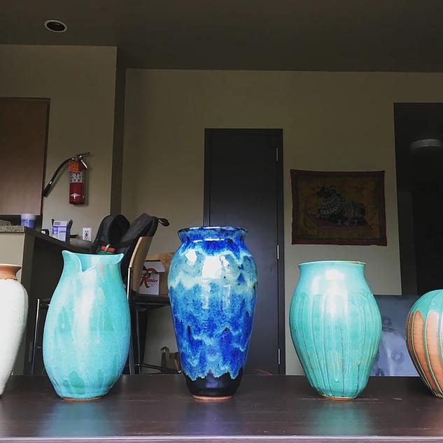 Mid-fire Vases