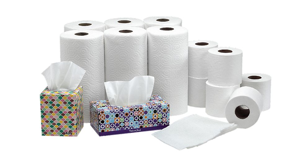 Paper & Hygiene Products Pantry OPEN