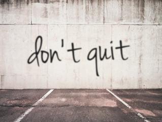 Keep Persevering!