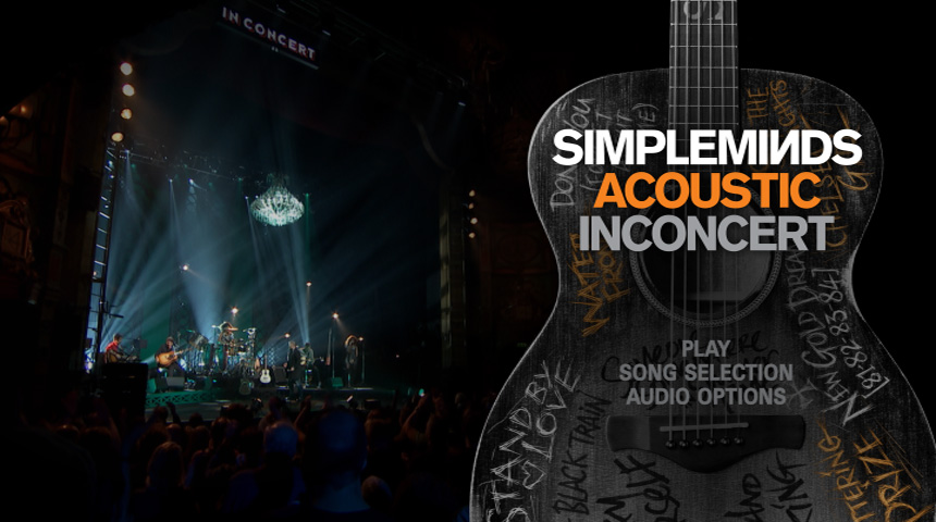 Simple Minds Live DVD & Blu Ray