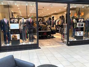 Retail Signage Hackett Store
