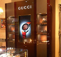 Retail Signage Gucci Digital Signage