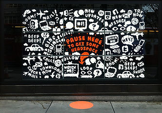 Video Wall Selfridges No Noise Videowall