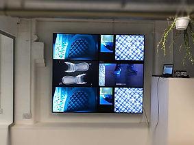 Retail Signage Adidas Videowall