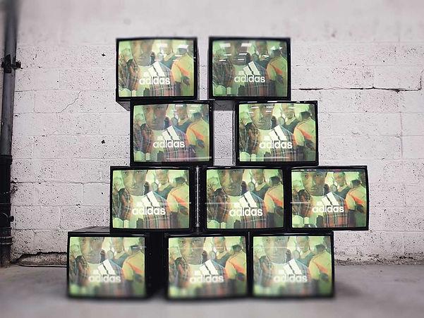 Retail Signage Adidas Retro TVs