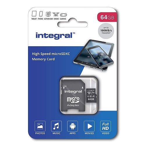 64GB Class 10 MICRO SD Card