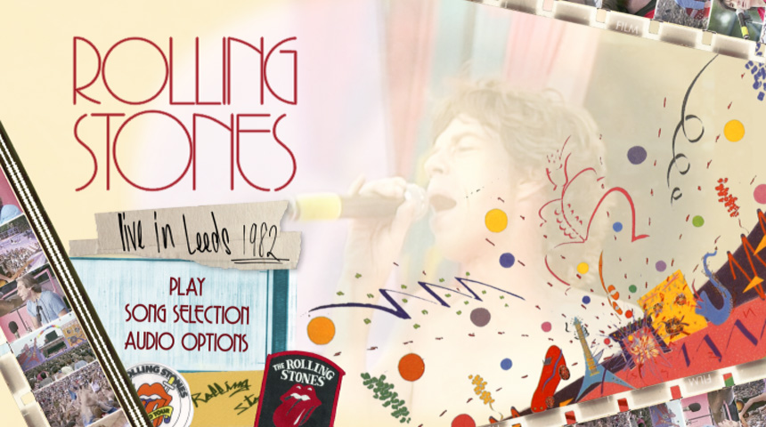 Rolling Stones Live DVD & Blu Ray