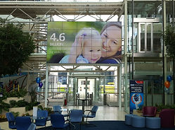 Procter and Gamble Head Office Video Wall by Freehand