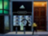 Retail Signage Adidas Robot Videowall
