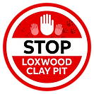 Stop Loxwood Clay Pit Logo Animal Print