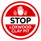 Stop Loxwood Clay Pit Logo Animal Print