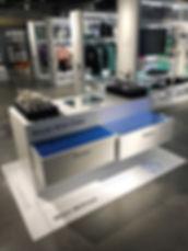 Retail Signage Adidas RFID Fixture