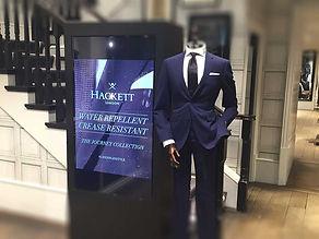 Retail Signage Hackett Totem