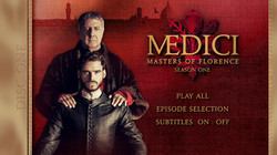 Medici Series 1 DVD and Blu Ray