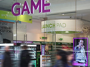 Retail Signage Game Store